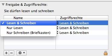 Mac Tutorial - Dateizugriffsrechte - 3