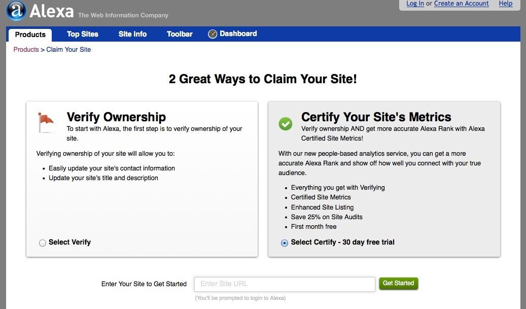 Wordpress SEO - Alexa verify Code
