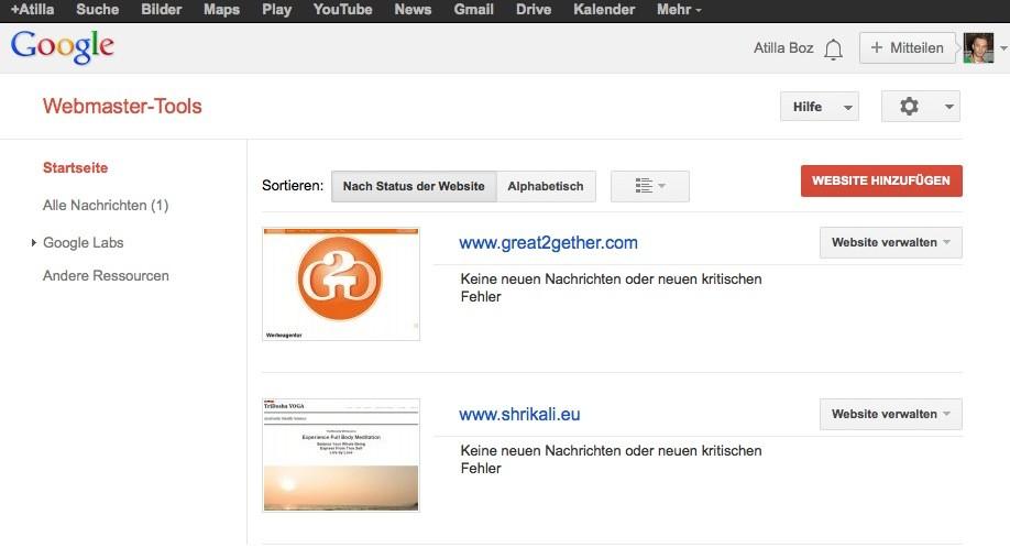Wordpress SEO - Google Webmaster Tools