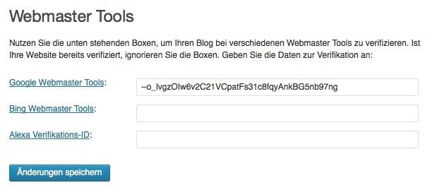 Wordpress SEO - Google Yoast Code