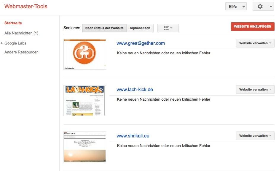Wordpress SEO - Webmaster Tools 2