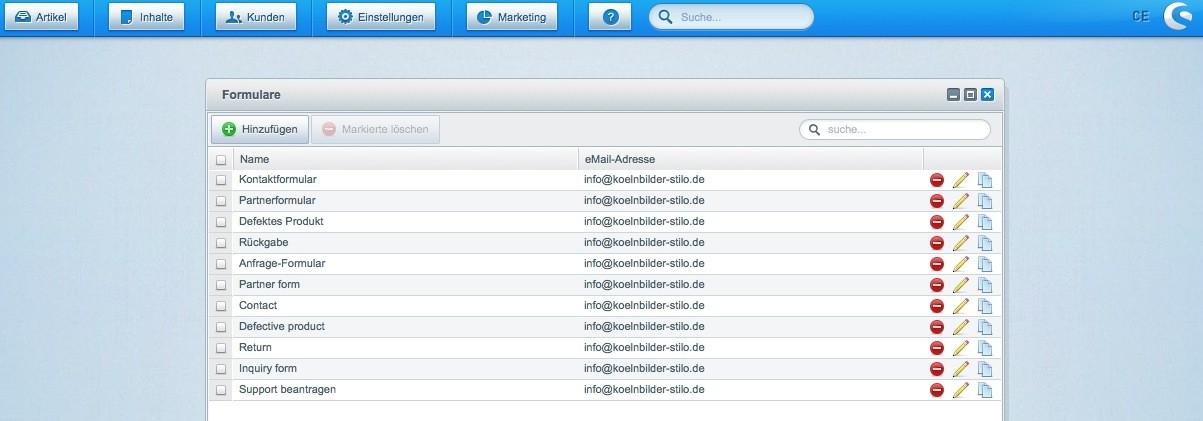 Shopware Konfiguration - E-Mails anpassen