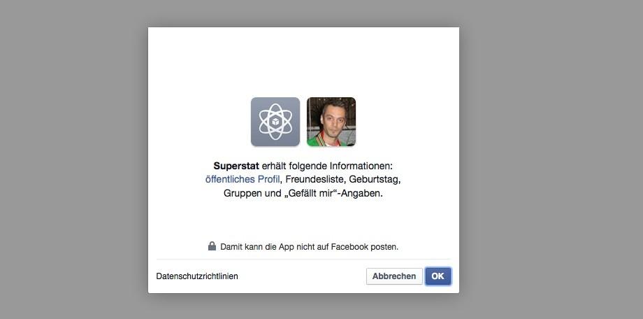 Facebook Likes tauschen - Fanslave.de mit Facebook Account verknüpfen