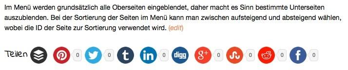 Wordpress Social Sharing Plugin - Simple Share Buttons Adder