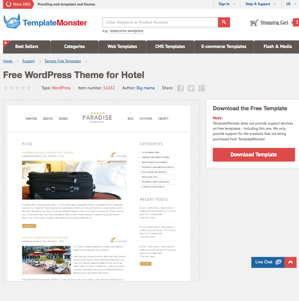 wordpress childtheme - parent theme
