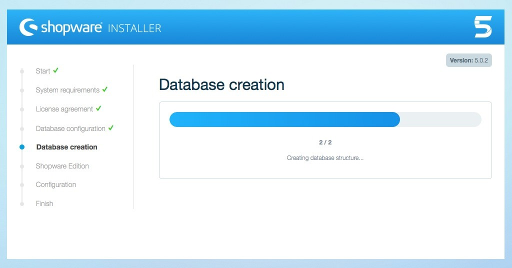 Shopware 5 Installation - Tutorial - Datenbank erstellen 3