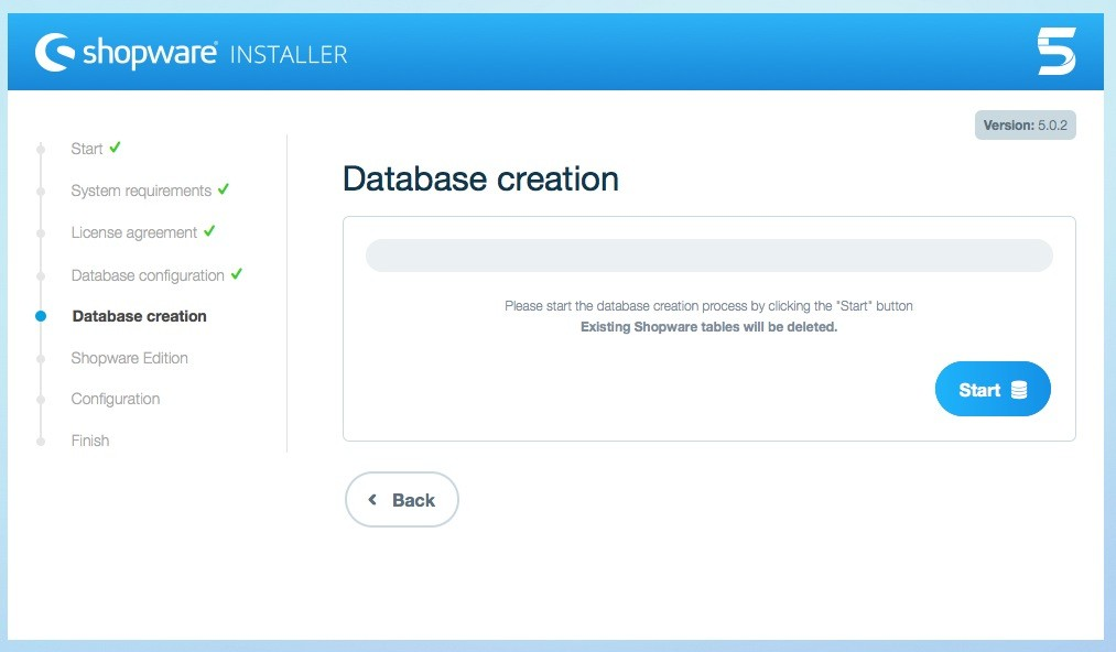 Shopware 5 Installation - Tutorial - Datenbank erstellen