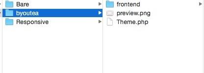 Shopware 5 Entwicklung mit Git - Dateien im Finder