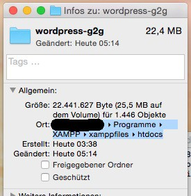 Wordpress verlangt FTP Login bei Plugin Installation - Ordner-Pfad