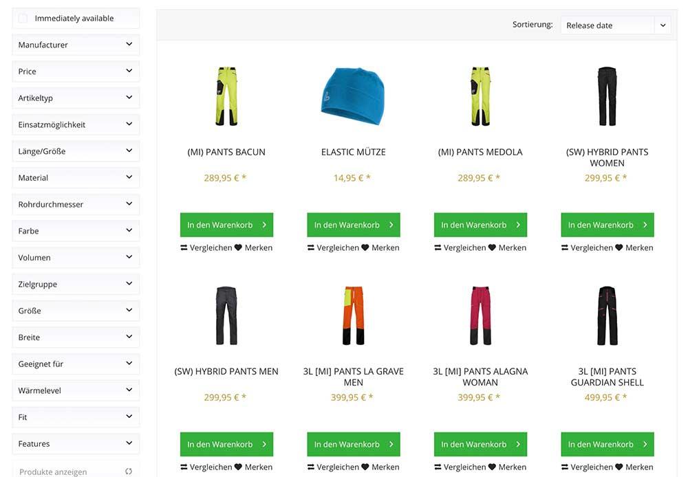 Shopware Design anpassen - Kaufbutton in der Kategorie-Liste