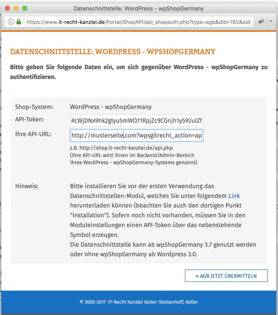 Anwaltlich geprüfte Rechtstexte mit automatischer Aktualisierung
