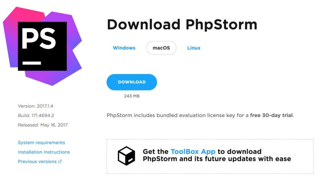 Shopware Entwicklung mit PHPStorm + Shopware Plugin - PHPStorm Download