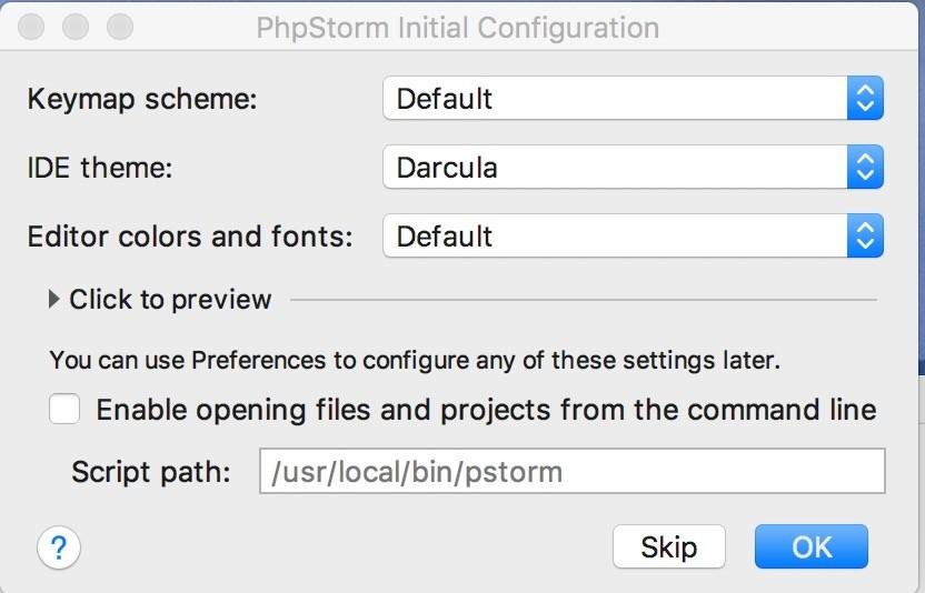 Shopware Entwicklung mit PHPStorm - Grundkonfiguration