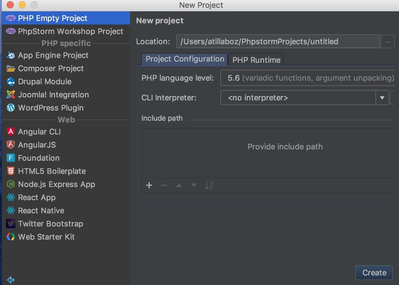 Shopware Entwicklung mit PHPStorm - Projekt Einstellungen