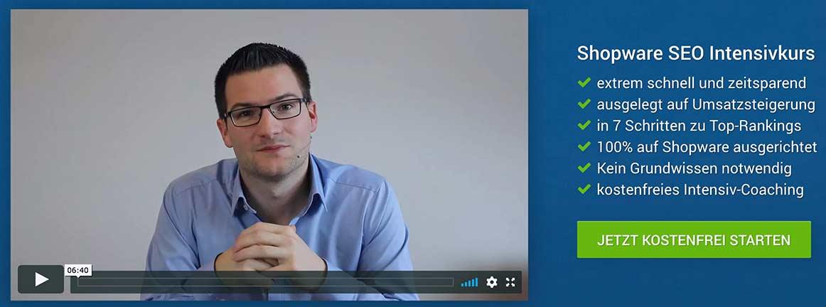 Shopware SEO - Kostenloses Coaching mit Thorsten Wieczorek