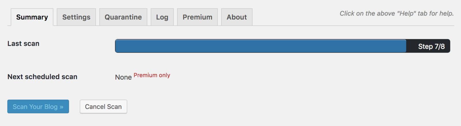 Wordpress Sicherheit #1 - System-Check mit Ninja Scanner