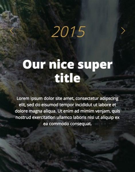 HTML & CSS Timeline Skript - Bruno Carvalho