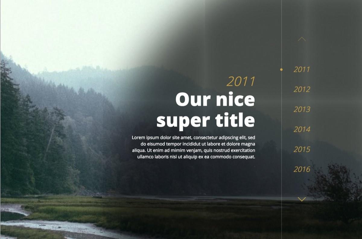 HTML & CSS Timeline Skript von: Bruno Carvalho