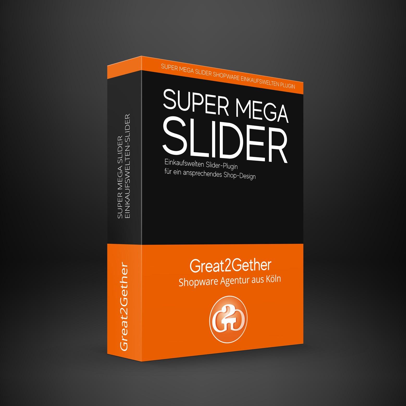 Super Mega Slider - Shopware Slider für Einkaufswelten