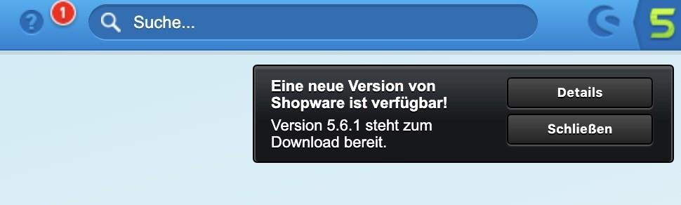 Shopware Update auf: Shopware 5.6 - Variablen austauschen