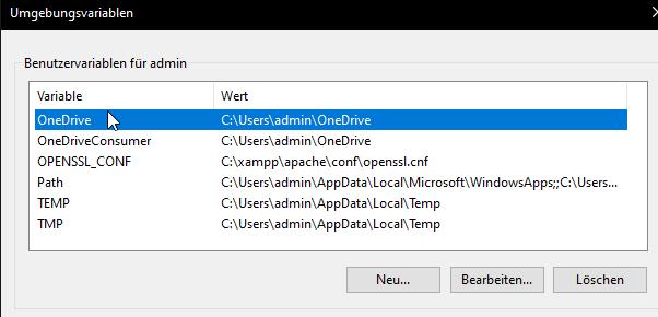 Shopware lokal installieren Windows XAMPP