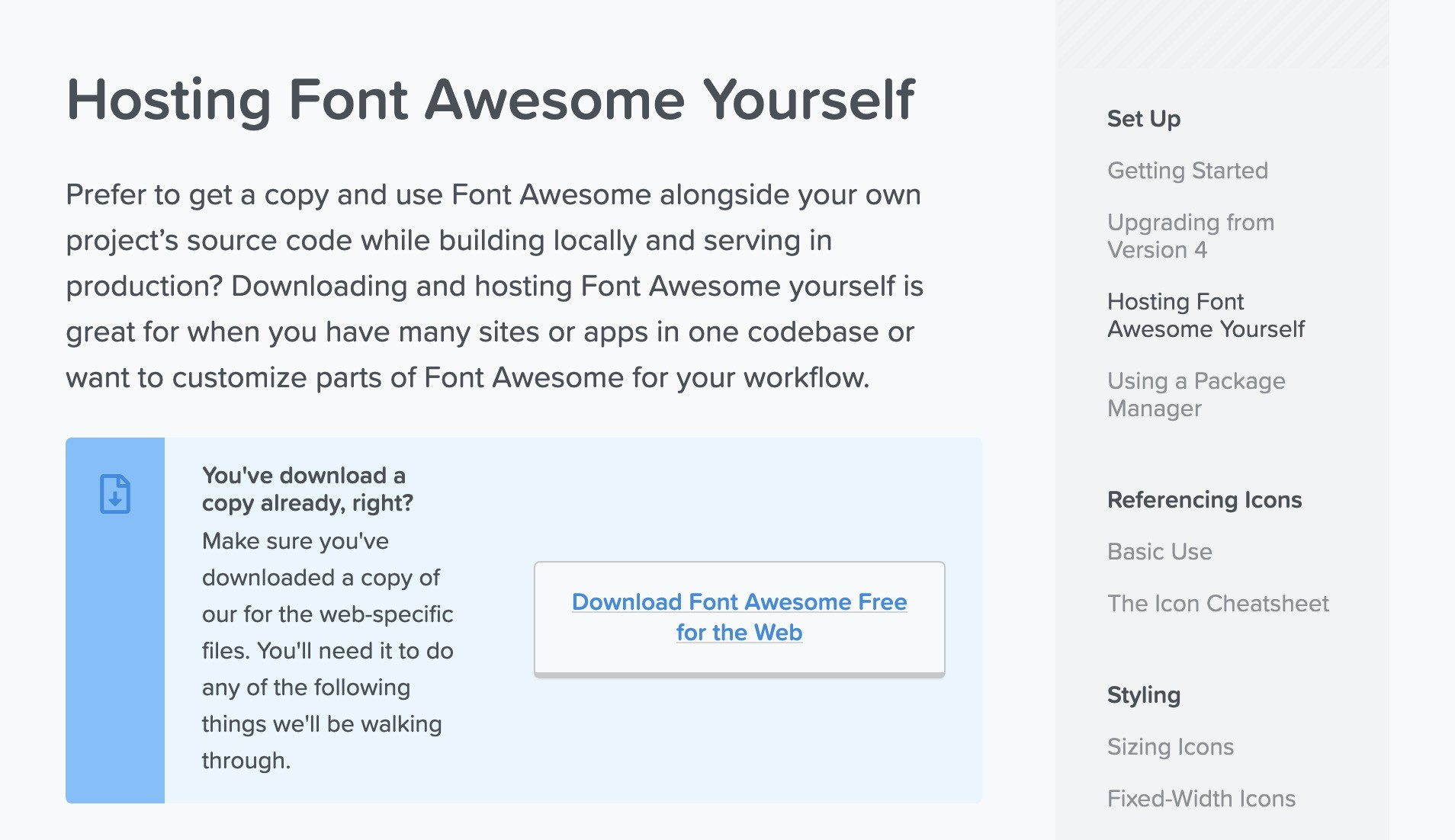 Font Awesome Icons - Download