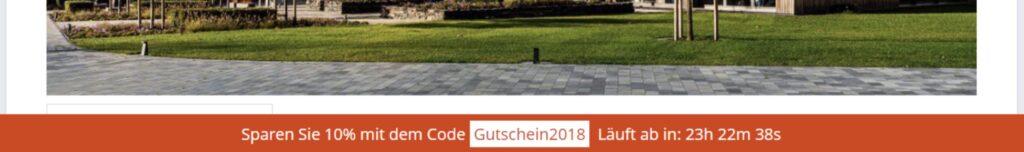 Shopware 5 - Gutschein Countdown