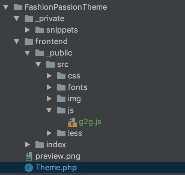 Javascript im Theme einbinden