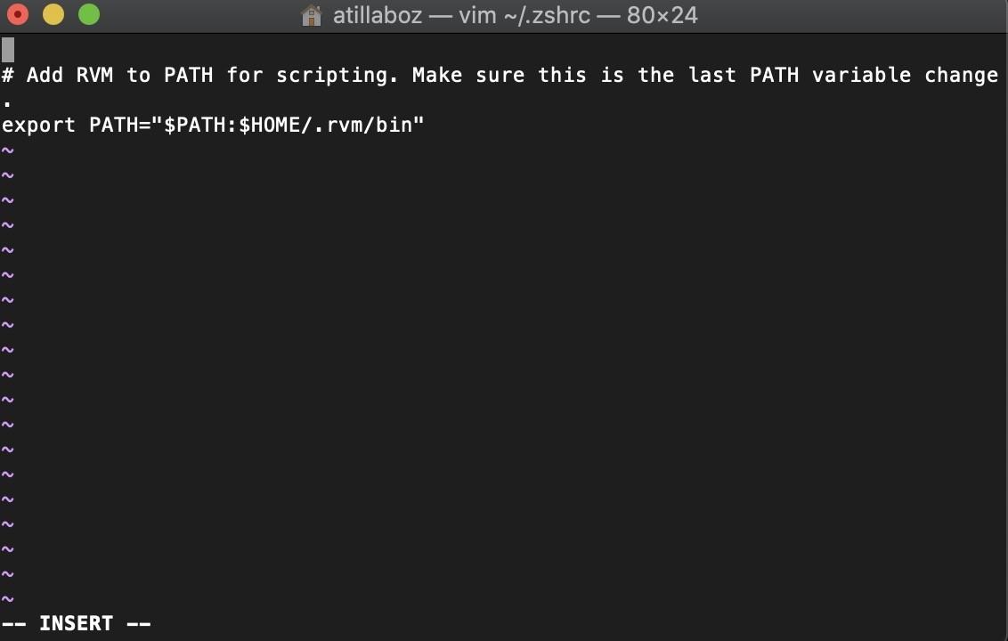 Shopware 6 lokal installieren Mac - PHP ändern 2